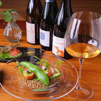 ≪ランチ≫季節のフランス料理 5,800円(+税)