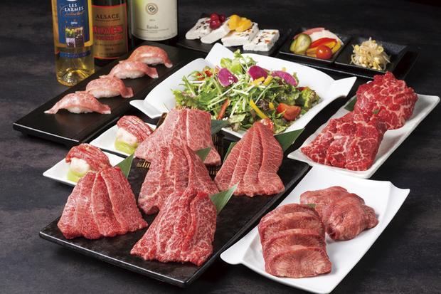最高A5和牛希少部位セットのお肉