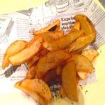 黒トリュフ味のフライドポテト