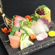 鮮魚3点、宮崎牛2点の贅沢盛り合わせ!!