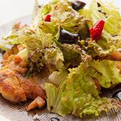 地元のブランド豚「郷ポーク」やこだわりの「大和野菜」が魅力