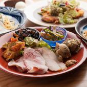 食材の組み合わせや調理法が絶妙。ヘルシーでおいしく女性に人気