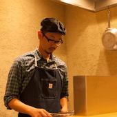 様々なジャンルを経験した料理人の創意工夫溢れるメニュー