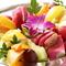 メロンやパパイヤなど季節の果物がたっぷり『フルーツ盛り合せ』