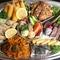 美味しさの要素がお皿の上に揃っている『特別ランチ』(ライス・スープ付)