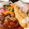 プリプリとした食感に魅了される『エビフライ』(ライス・スープ付)