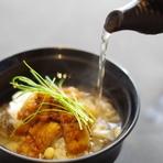 穴子の白煮と蕪の煮物