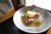 夏のこの暑さでも喉越しよく召し上がっていただける天ぷらです。これには板長絶賛の純米大吟醸「中島屋」とどうぞ!