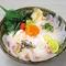 青森平目のスモーク丼