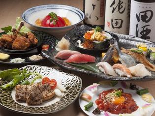 青森県内で取れた新鮮な食材をメインに使っています