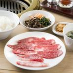 焼肉ランチも。ホルモンや冷麺・温麺など種類豊富です