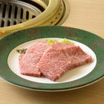 ヒレ肉に近い食感の『上ロース(カイノミ)』も人気