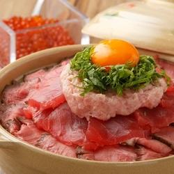圧巻の肉タワーを牛タンにてご提供いたします!五感でお楽しみくださいませ♪