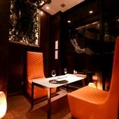 【完全個室】人気のデザイナーズ空間は、大人の隠れ家ダイニング