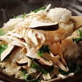 こだわりの仁多米で、四季折々の食材を炊く『ご飯』