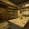 2階には落ち着いた和室を完備。職場の宴会や地域の集まりに