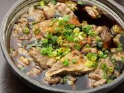 こだわりの創作料理!【牛すじポン酢】コトコトと4時間煮込みました。  480円