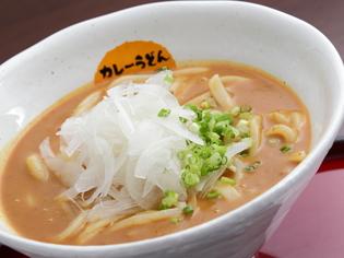 こしのある麺にクリーミーなスープが絡む『カレーうどん』
