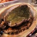 こだわりの食材 石川県よりアワビ