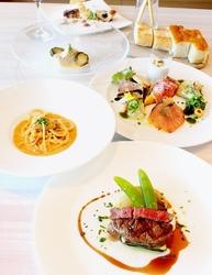 <ランチ>Cコース7品 前菜・パスタ・お魚料理・お肉料理・デザート・パン・お飲み物