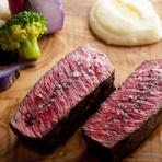 『和牛もも肉のグリエ』自家製たまり醤油のソースで