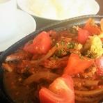 豚肉のトマト煮生姜焼き風