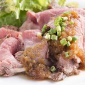 国産の漢方和牛や地元農家直送の野菜&米など、厳選素材を使用