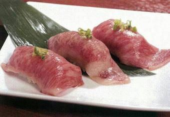 松坂牛の握りを始め、各種厳選肉を使用した内容となっております。