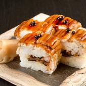 穴子の柔らかさが絶妙『穴子棒寿司4貫』