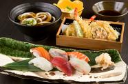 酒の肴にもピッタリな『握り寿司膳』
