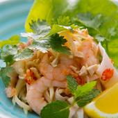 タイで人気の『海老と青パパイヤのしゃきしゃきサラダ』