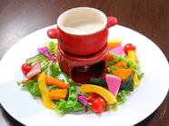 濃厚なソースと旨みたっぷりの野菜のハーモニー『バーニャカウダ』