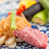 肉の旨みを最大限に生かした肉割烹をご提供致します