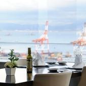 神戸の港を一望できるロケーションで優雅なデートを満喫