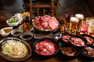 ジンギスカン専門店のこだわりを集結した『スタンダード食べ飲み放題コース』