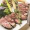 肉本来の旨みを噛みしめる『フィレンツェ風 牛ステーキ』