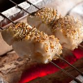 和食の職人が炭火で焼いた旬の魚
