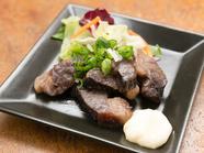 国産牛の旨みが、ギュッと凝縮。濃厚な味わいの『干し肉』