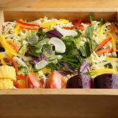 特上のお肉と一緒に蒸されて食す15品目の野菜