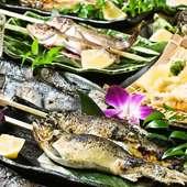 『佐渡直送の鮮魚』をお客様のお好みに応じて調理