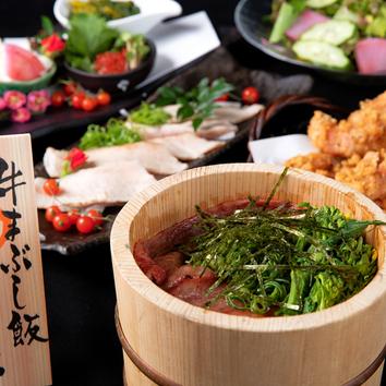 【濃厚蟹みそ甲羅焼き&あっさり和風鶏鍋コース】7品 3000円