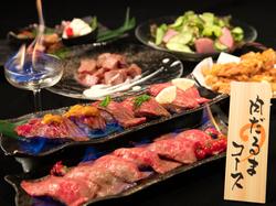 特選黒毛和牛オススメ焼肉メニューが味わえるコース!+980円で3h飲放題