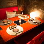 2名から最大100名まで可能な広々個室空間です。コース料理も充実しているので、デートや宴会、女子会など幅広く利用OK。A5ランクの神戸牛をお楽しみ頂ける贅沢な焼肉ダイニング。