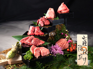 特上神戸牛と黒毛和牛の玉手箱(リブロース・ヘレ・神戸牛赤身・サーロイン・長ロース)