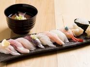 嬉しい予約特典として好みのネタをサービス『富山湾寿司』