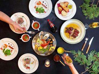 2h飲み放題付!当店自慢の牡蠣料理をはじめ、『ハーブチキングリル』など逸品ぞろいの期間限定プラン。