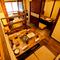 完全個室のソファー席・掘りごたつ席と間仕切りのある半個室空間