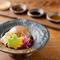 完全無添加の『金胡麻豆富』は他では味わえないと評判の味 5種類のタレからお好みの味をチョイス