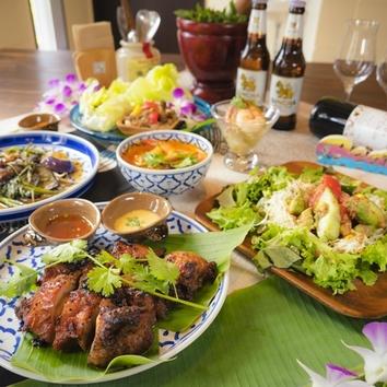 タイご飯のコース
