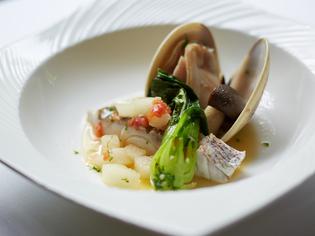 魚介の旨みを野菜に吸わせることで、奥深い味わいを